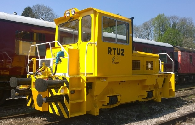A 16 year old CD25 safety critical locomotive after refurbishment