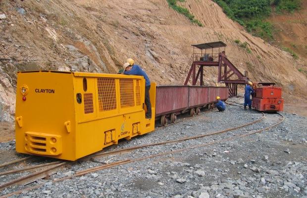 Clayton Equipment Diesel Locomotive