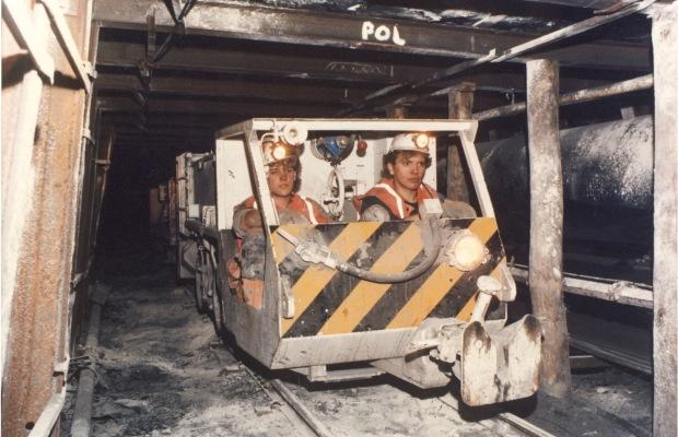 Clayton Equipment Flameproof Locomotive