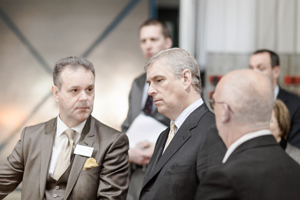 HRH Duke Of York Visit To Clayton Equipment