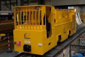 28 Tonne Battery Locomotive For Malaysia
