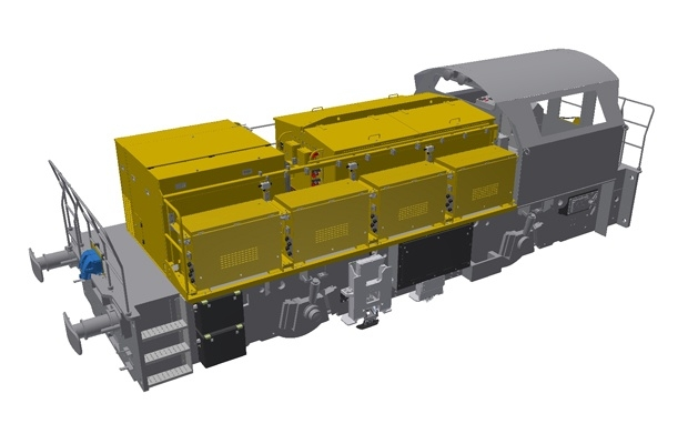 Locomotive 3D CAD Modelled