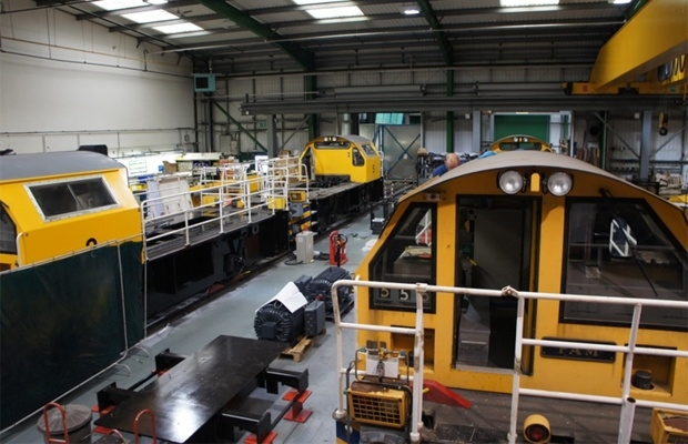 Locomotives Being Converted At Clayton Equipment
