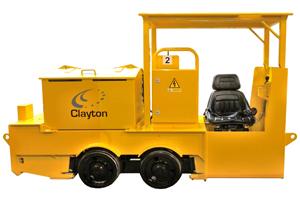 Clayton Equipment CB2 Locomotive
