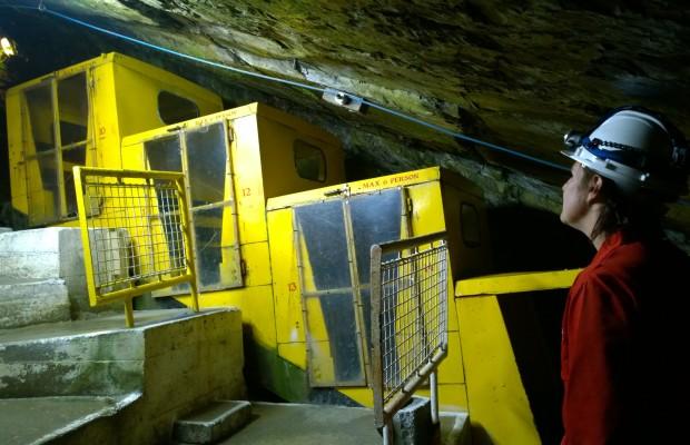Llechwedd Slate Cavern Manrider