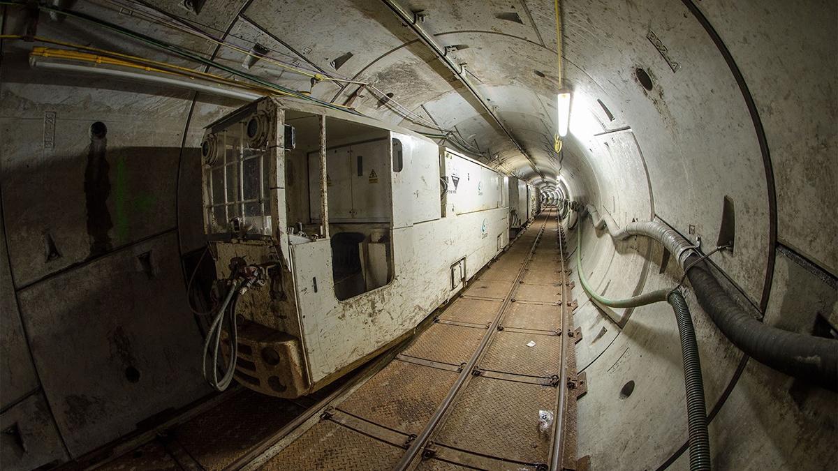 Clayton tunnel locomotive Costain