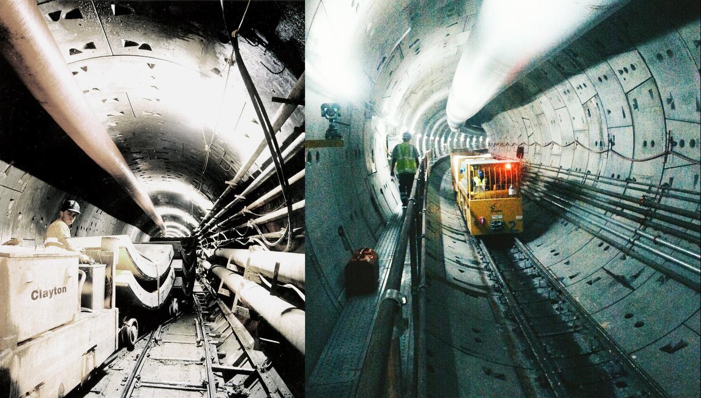 Clayton tunnel locomotives