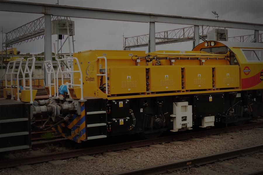 Clayton battery locomotive London Underground