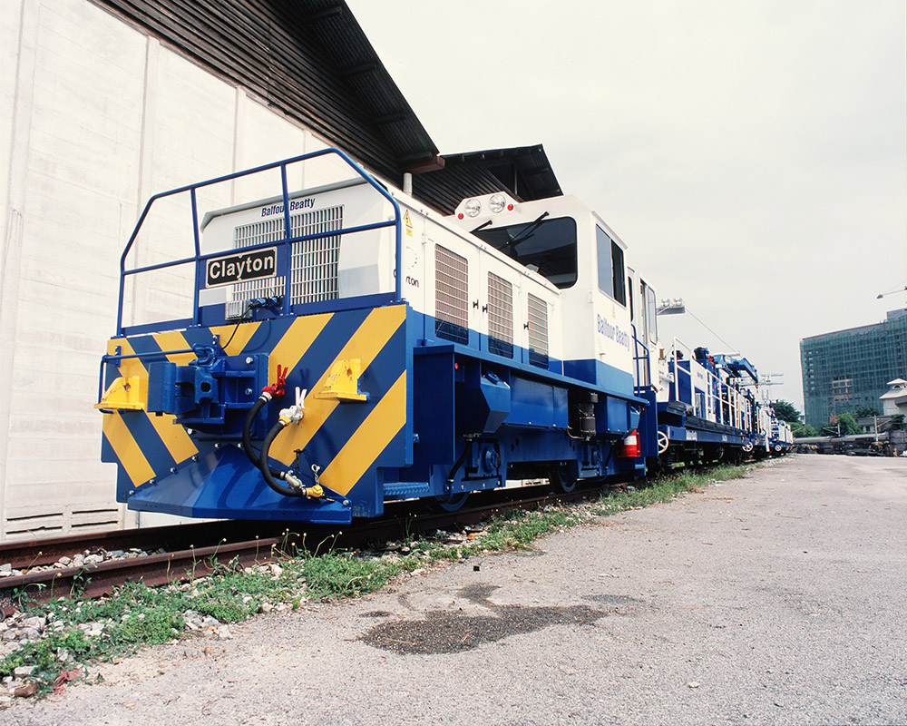 Clayton Diesel locomotive Balfour Beatty